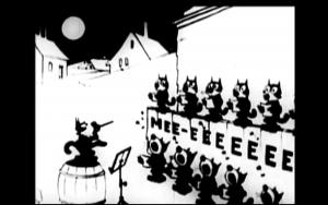 Fig. 7 - Felix Orchestre de chats