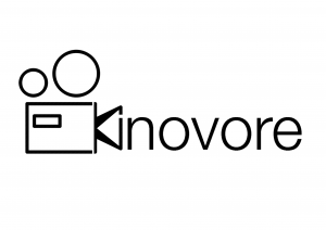 Kinovore - Logo (Fond blanc)