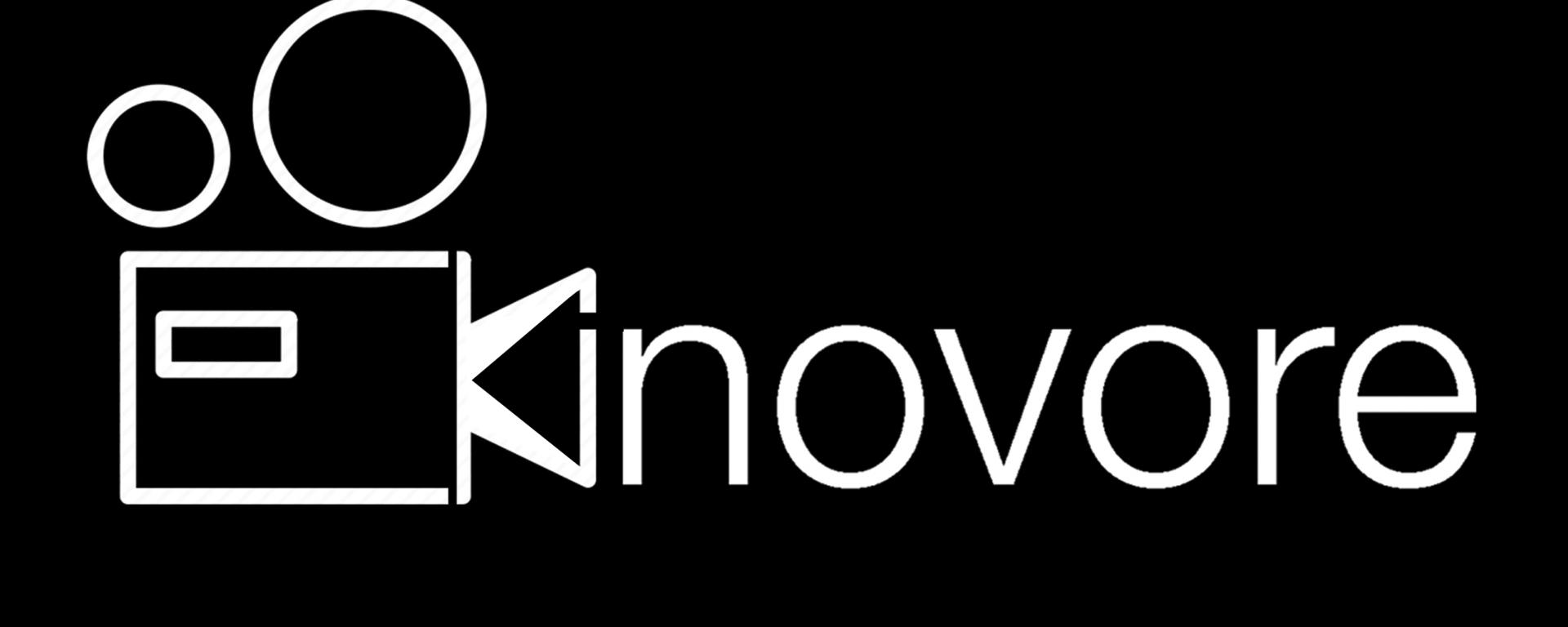 Kinovore - Logo (Fond noir)