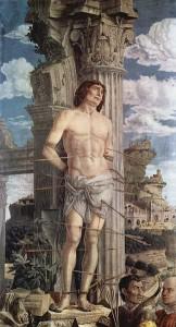 IMAGE 4 St. Sebastian - Andrea Mantegna, 1480