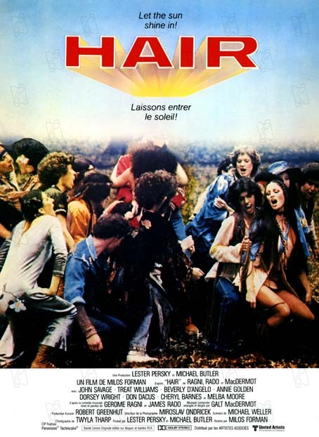 Hair 1979 rŽal : Milos Forman  Collection Christophel